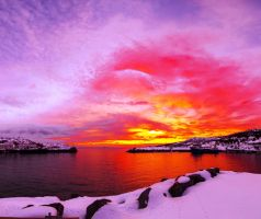 Sunset panorama :) by misa2525