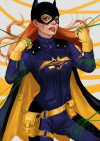 BATGIRL: redesign by kabuute