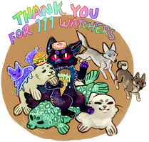 Thank you for 111 watchers! by canned-eggs