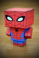 CubeCraft Spiderman by digital-uncool