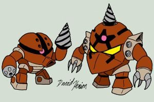 Acguy and Zock by strangefour