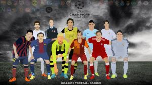 Champions League 2014/2015 by design987