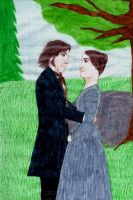 Mr. Rochester and Jane Eyre by Chocolat93