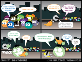CC429 - End of the World 29 by simpleCOMICS