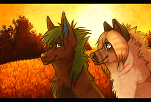 Up on the Hills by JollyMutt