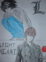 Death Note tribute by MOURNING-SKY