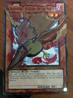 TCG Altered Art: Blackwing-Moltres by ComicMaster1