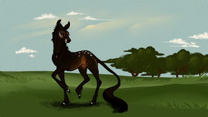 Child of Wind and Fire - Fawn Bid by orengel