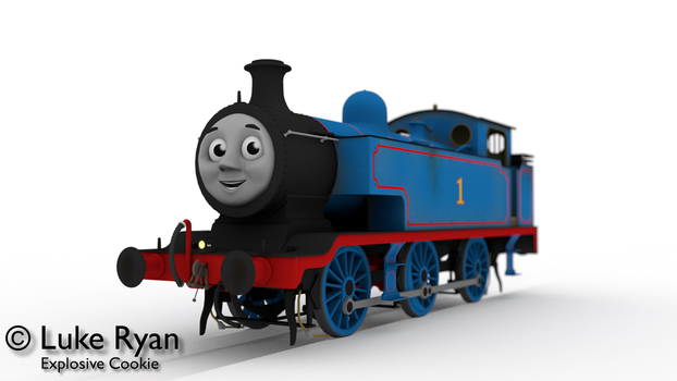 Thomas the Tank Engine, 1920 - 1960 V2 by explosivecookie