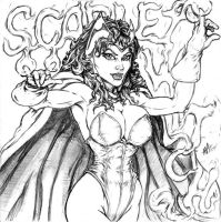 Scarlet Witch by toegar