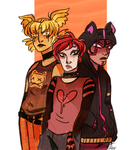 Mall Goths by Cakeybots