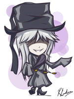 Chibi Undertaker by feurae