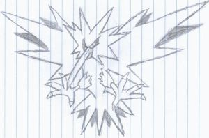 Zapdos by revolutionX1600