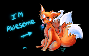 .: Gift : I'm awesome :. by Aluri