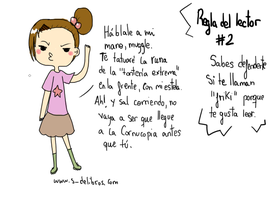 Reglas del lector #2 by Thegirlins