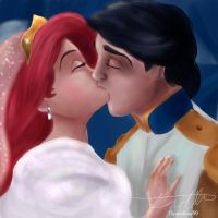 Ariel and Eric by Hyzenthlay89