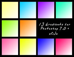 Gradient pack 1 by xCJx
