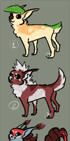 some doggy adoptables (open) by OhLemonshark