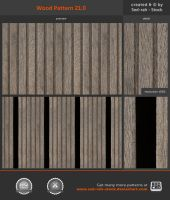 Wood Pattern 21.0 by Sed-rah-Stock