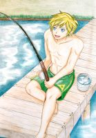 LoZ- Fishing by kurobas