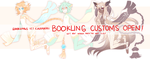 [CLOSED] on base Bookling custom by Cappuchi