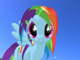 Rainbow Dash 3d Game by AmberLayla