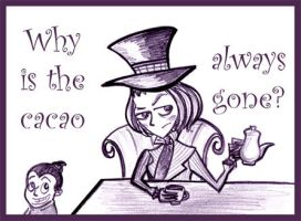 Why is the cacao always gone? by Lilostitchfan