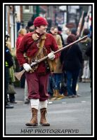 1644 Soldier + musket by 001mark