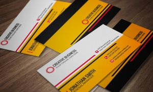 Corporate Business Card Template SE0030 by annozio