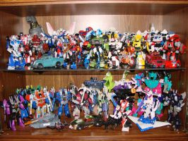 My Transformers Display Case 2 by Air-Hammer