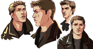 Dean sketches by lastlabyrinth
