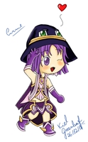 Grand Chase: Chibi Arme by KielGreenleaf