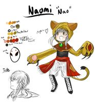 Nao's Colors, Yes the real ones by SunsetFlareX