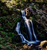 Triberg Waterfall HDR 01 by Creative--Dragon