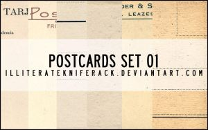 Postcards Scans Set 01 by illiteratekniferack