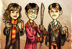 HarryPotterTrio by D-Cranford