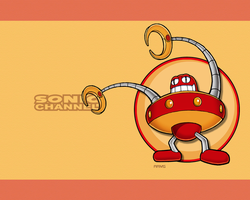 Sonic Channel Arms Wallpaper by E-122-Psi