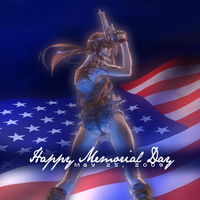 Anime Memorial Day Journal Skin by Angel-of-Love