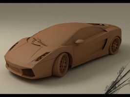 Lamborghini Gallardo Chocolate by Alpha1dash1
