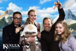Flying Bison Plush at Korra wrap-up party! by JanellesPlushies