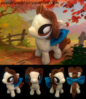 Pony Plush: Belle by SnowFright