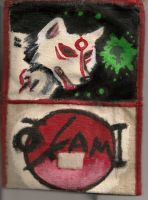 Okami-Amatserru Wallet-Outside by DistortedAlice