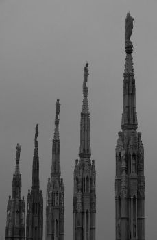Gothic pinnacles by fireman55