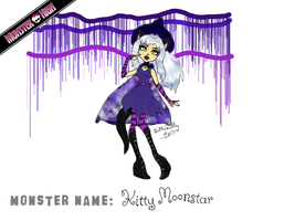 Monster High Contest - Kitty Moonstar by bittykitty