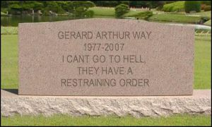 RIP Gerard Way2 by onegothicromance