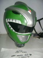 green ranger foam helmet doneee by actstudio65148