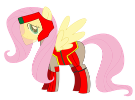 Fluttershy Pro Bender Vector by KageShinigami