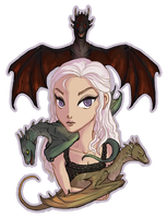 Mother of Dragons by Policide