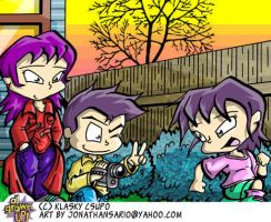 Detective Kimi Pickles Family by Staredcraft