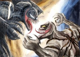 Venom vs Anti-Venom by alecyl